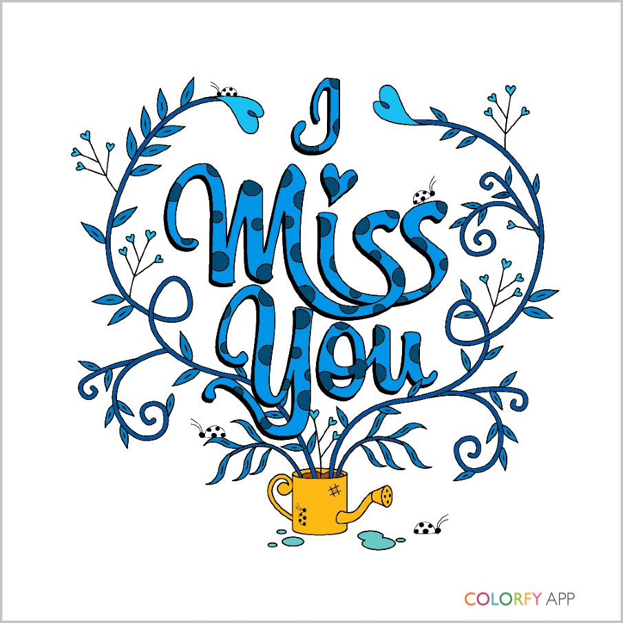 RiP mom!! Miss you so much!!! #colorfy | adult coloring | Pinterest
