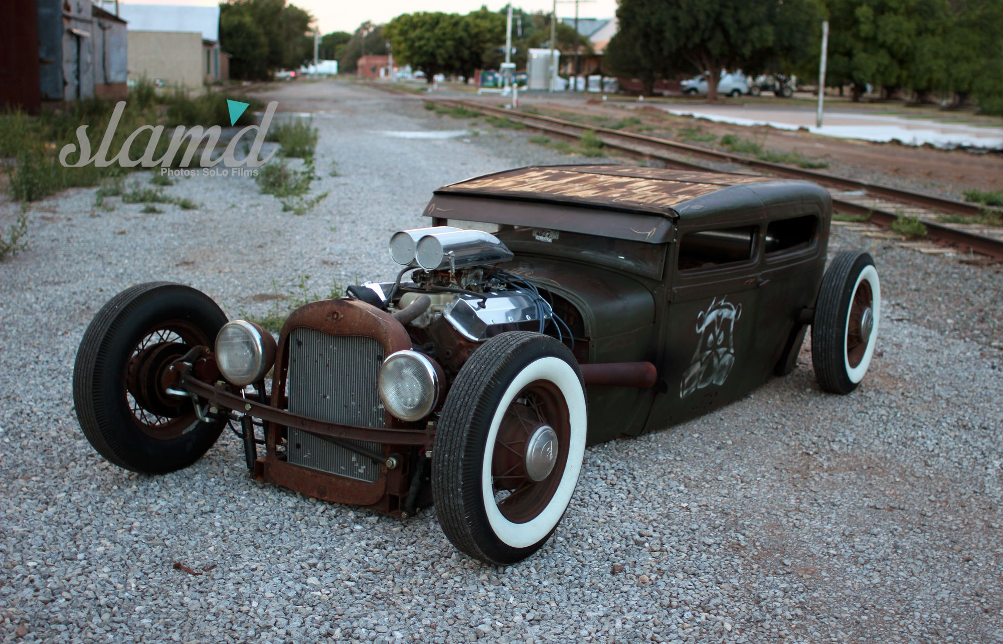 SkunkRat: The Skunkwerx 1928 Ford Tudor Sedan | Slam\'d Mag | Rusty ...