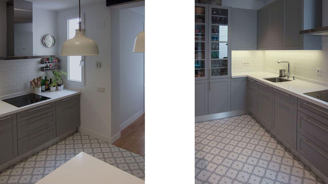 Montesquinza. Blanco y Gris | casa | Pinterest | Mueble cocina ...