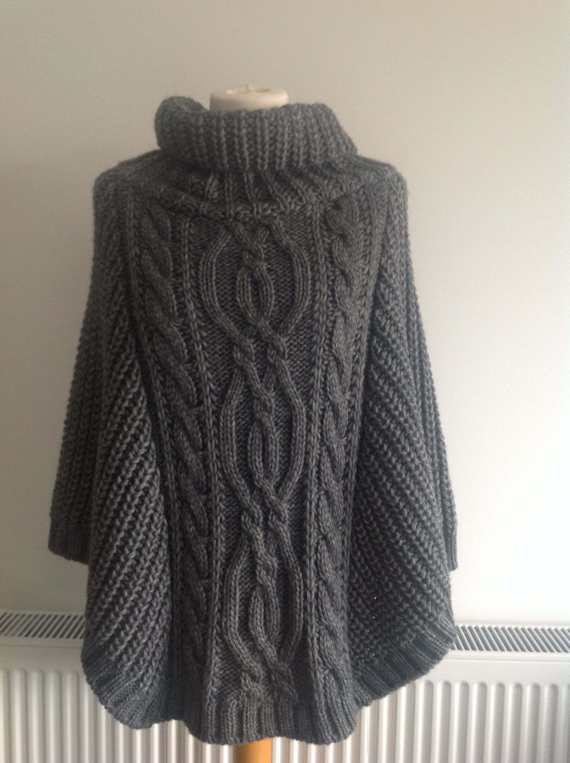 Knitted Ponchos - http://theponcho.com/blog/ | knitted | Pinterest ...