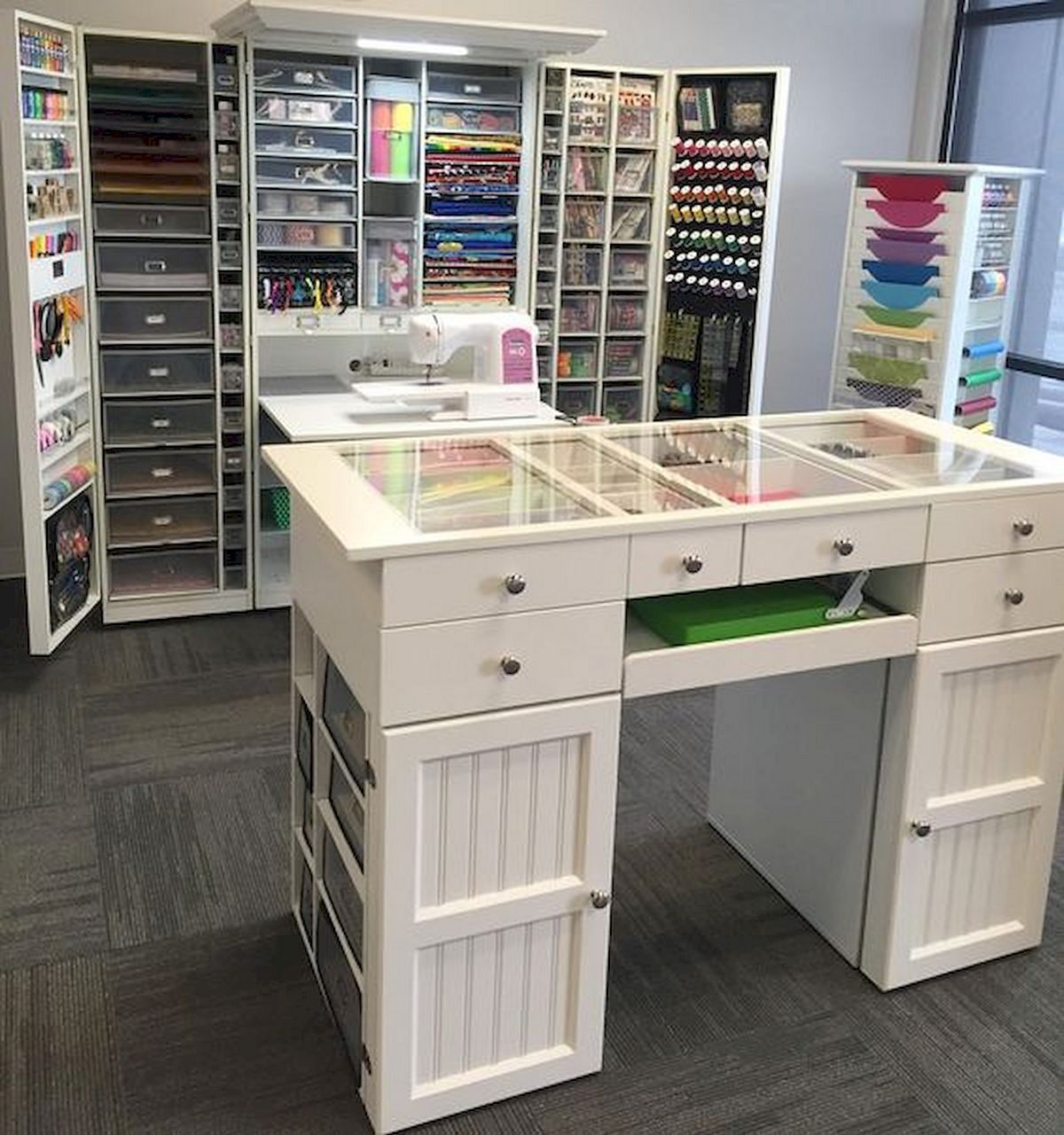 15 Wonderful Ikea Craft Room Table Design With Storage And Organization Ideas Share924sharesdo You Have A Cra Ikea Craft Room Diy Crafts Desk Craft Room Tables