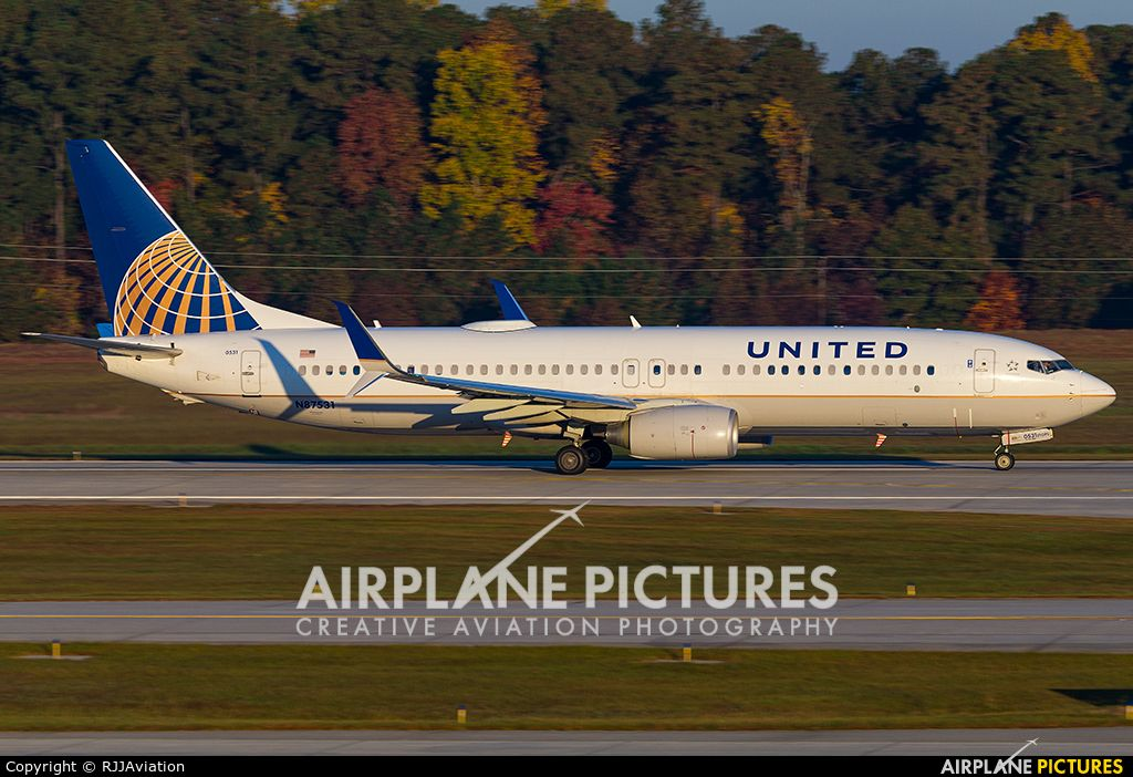 N87531 United Airlines Boeing 737-800 | United Airlines & Before
