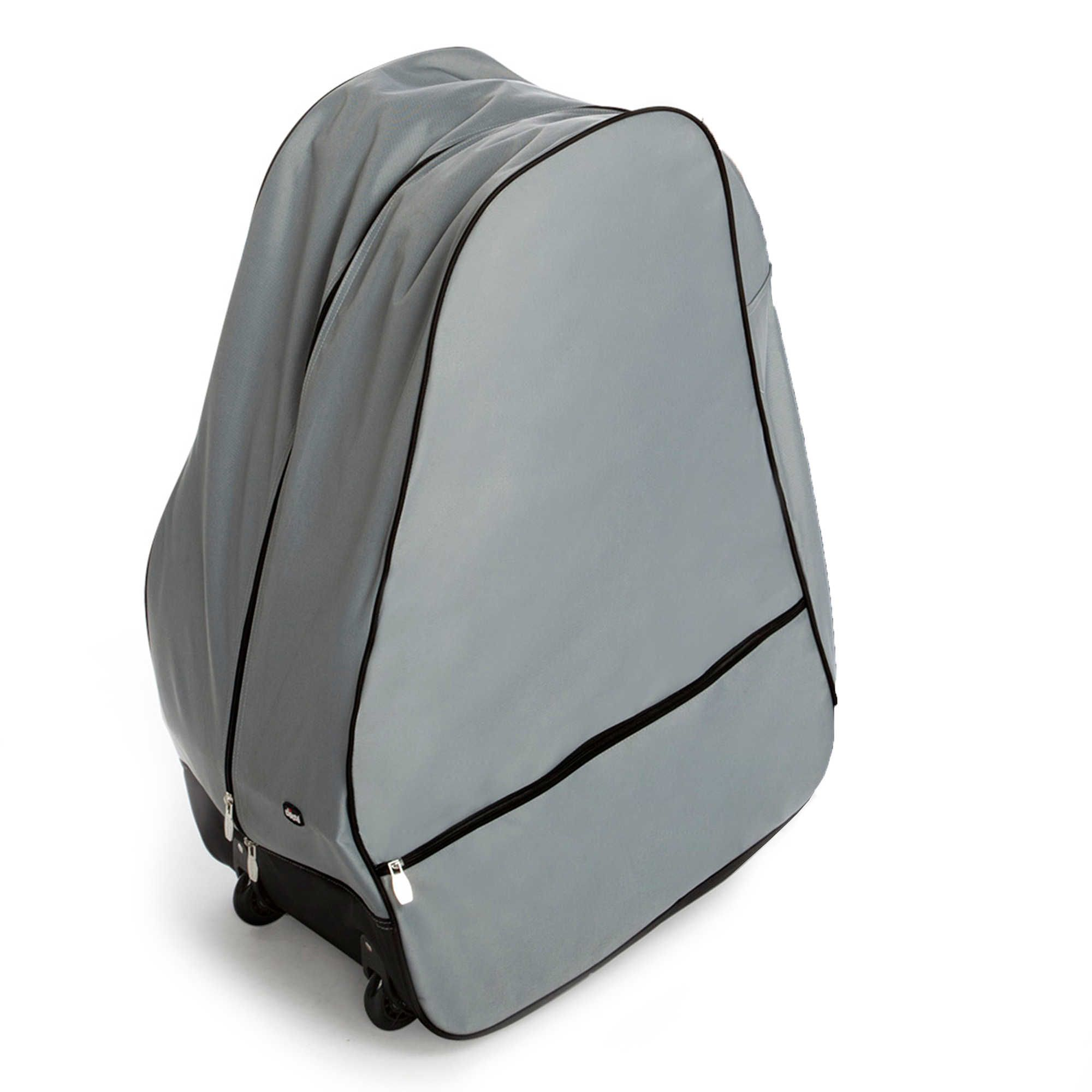 ChiccoR Universal Car Seat Travel Bag With Wheels In Grey