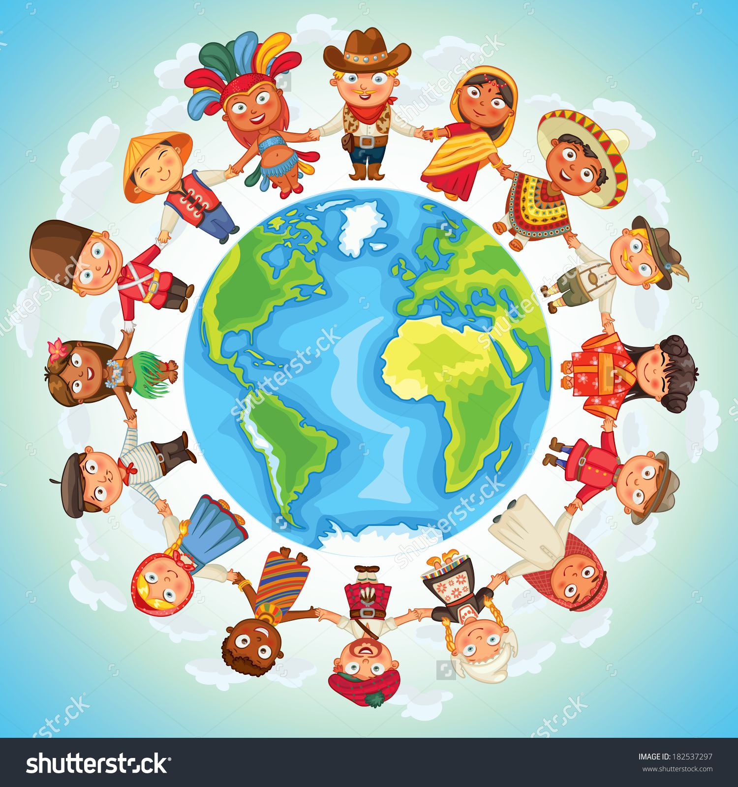 Multicultural: Multicultural Character On Planet Earth Cultural Diversity