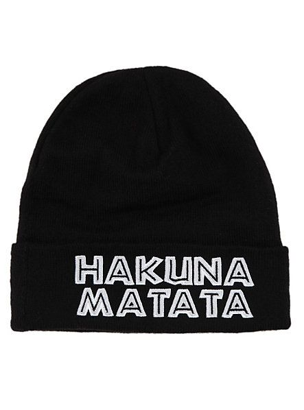 d81bccebb2ce27 Disney The Lion King Hakuna Matata Watchman Beanie | Hot Topic ...