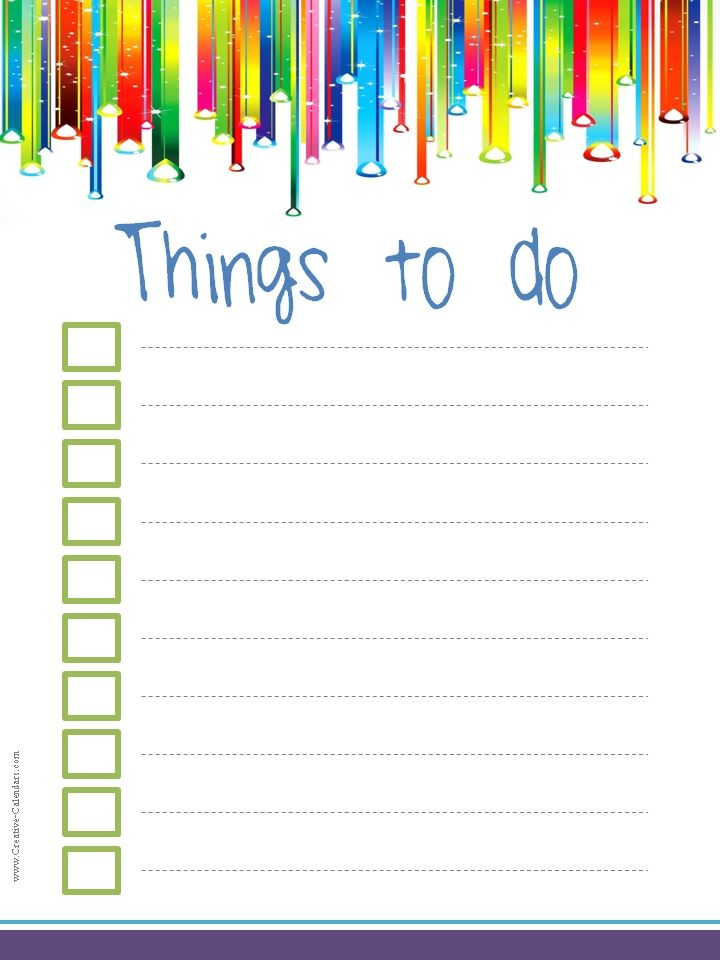 To Do List Template To Do Lists Pinterest Template And Free