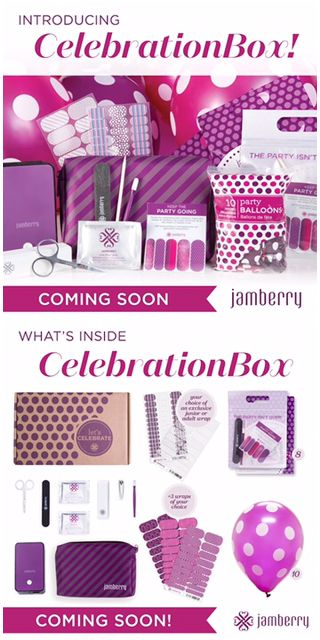 Are you looking for a fun and unique birthday party, baby shower, bridal shower, or bachelorette party activity?   Jamberry will make your day fun and relaxed.  Girls of all ages love Jamberry! When they leave the party they will have a manicure that will last up to two weeks and go home with fun goodies!   The celebration box will be available mid-October but we can customize a party package to meet your needs before then!! Let's talk about how I can make your event special! And, if you…