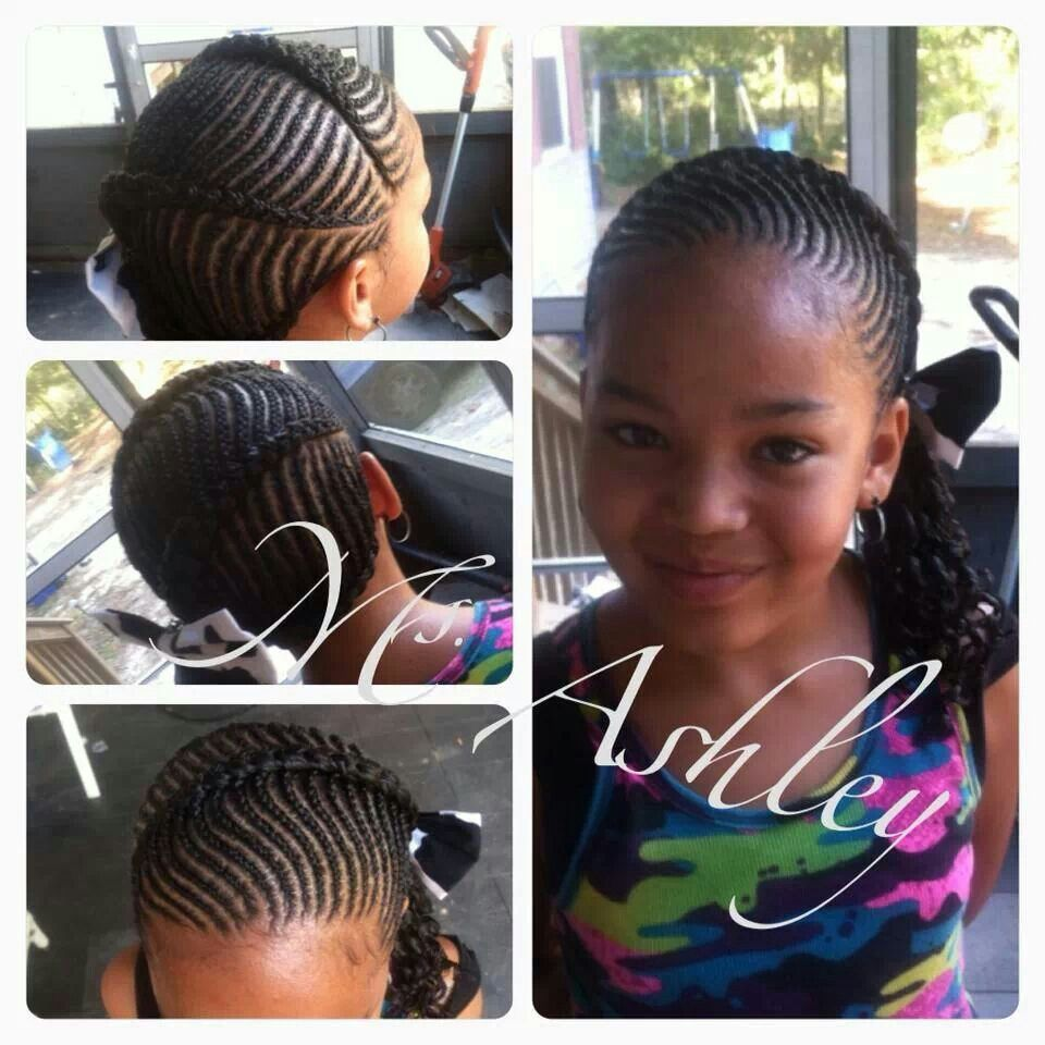 Cute Braids Style For My Kenzy Bug Free Hand Hairstyles Kids Hairstyles Natural Hair Styles Easy