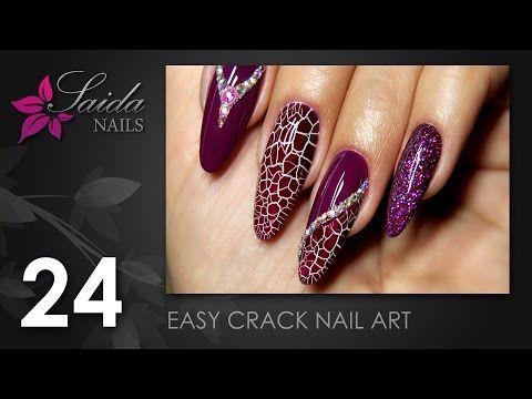 Easy crack nail art saida nails nail art easy done youtube easy crack nail art saida nails nail art easy done youtube prinsesfo Gallery