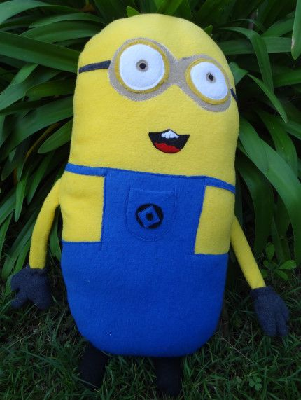 Despicable Me Minion Sewing Pattern | Sewing patterns, Patterns and Toy