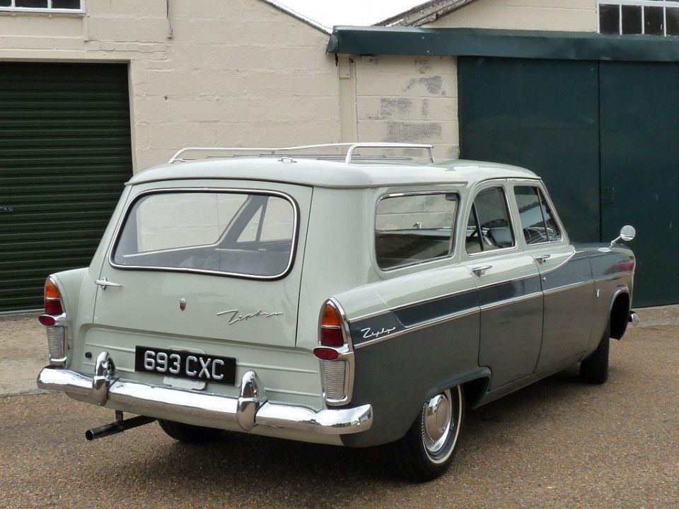 1961 Ford Zephyr Mk 11 Farnham Estate By Abbot Ford Zephyr Ford