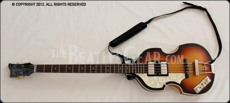 1961 Hofner 500 1 Bass Left Handed Beatles Bass John Lennon Beatles The Beatles