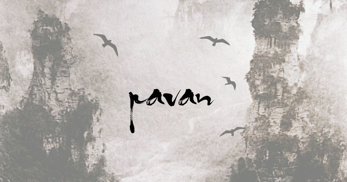 Pavan your calligraphy name letters calligraphy