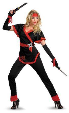 Best Ninja Costumes Best #Halloween #Costumes  Decor Halloween - ladies halloween costume ideas