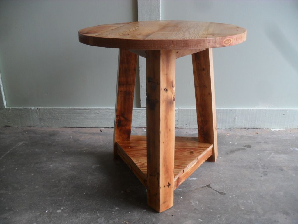 Great Cricket Table With A Great Look, This Is What Country Is All About.  Reclaimed Wood FurnitureCricketWood Working