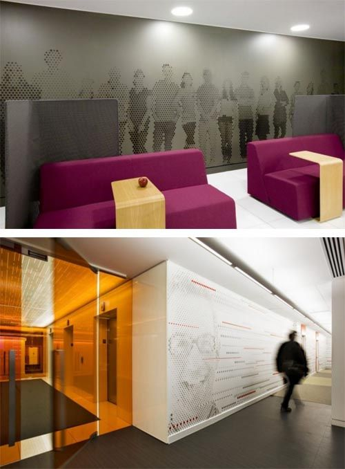 Beautiful Office Wall Art Modern Interior Comfortable
