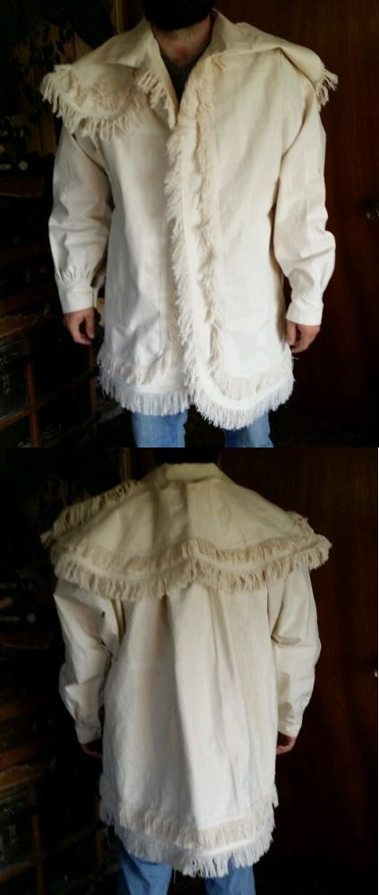 Woodsman Frock Coats// jacket for fur trade re-enactments  Size XL