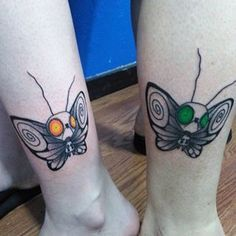 You can always opt for something small, like matching Tim Burton moths. | 27 Stunning Reasons To Get A Tim Burton Tattoo