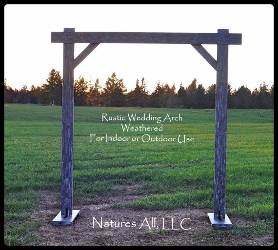 Rustic Country Wedding Arch Compete Kit For By NaturesAllLLC