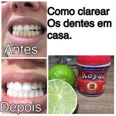 COMO CLAREAR OS DENTES EM CASA EM 2 MINUTOS