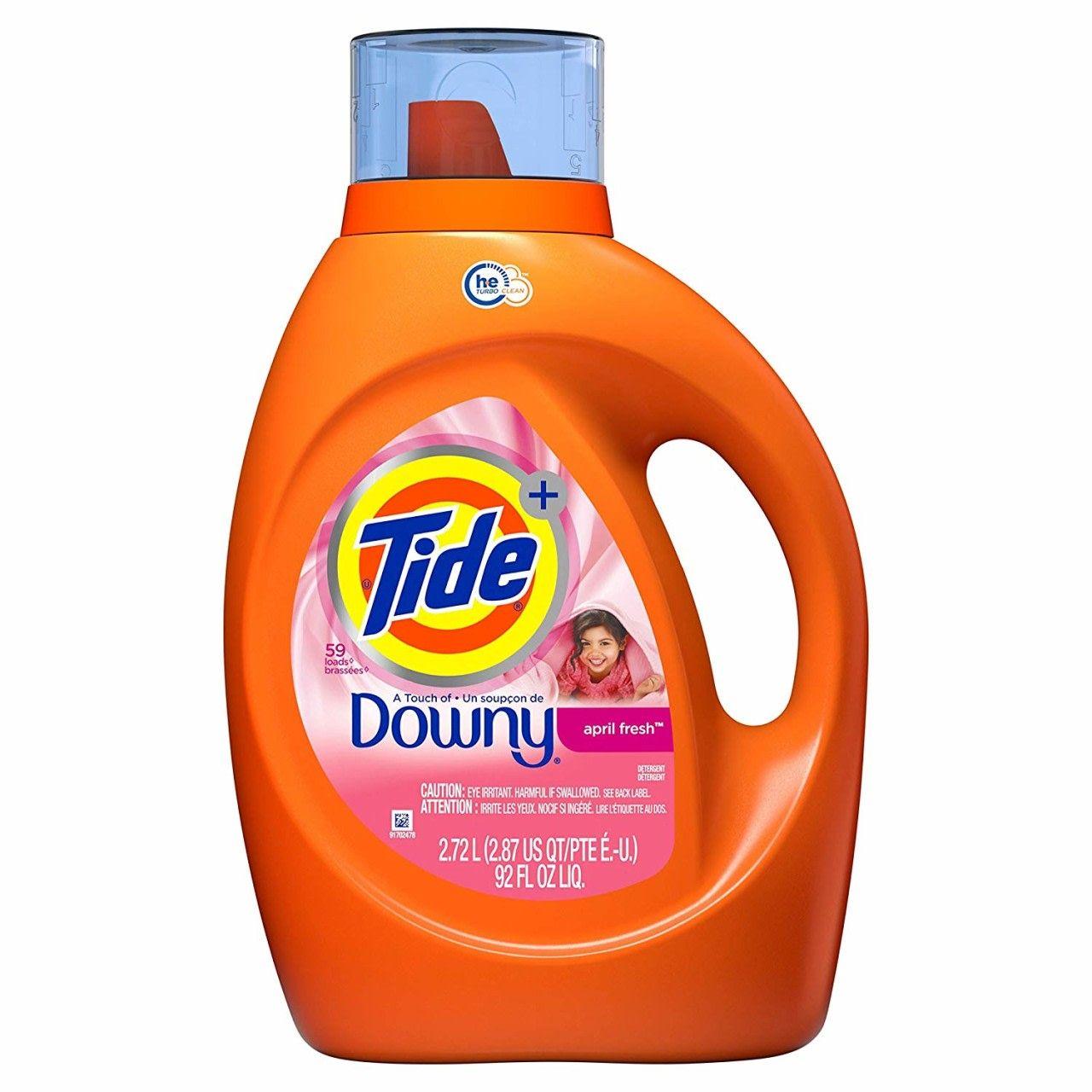 Hot Tide Laundry Detergent Liquid Plus Downy April Fresh Scent