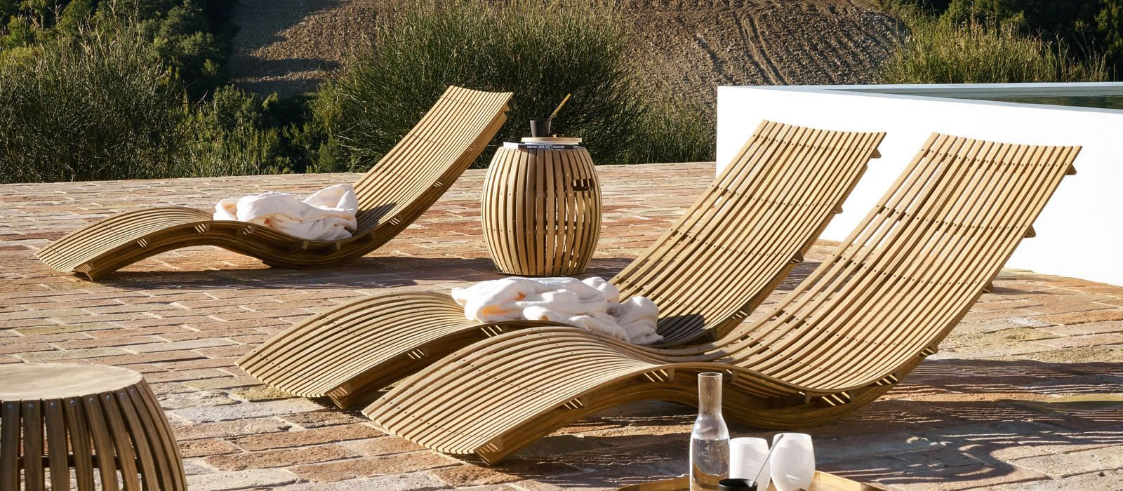 loungers and deck chairs garden furniture unopi