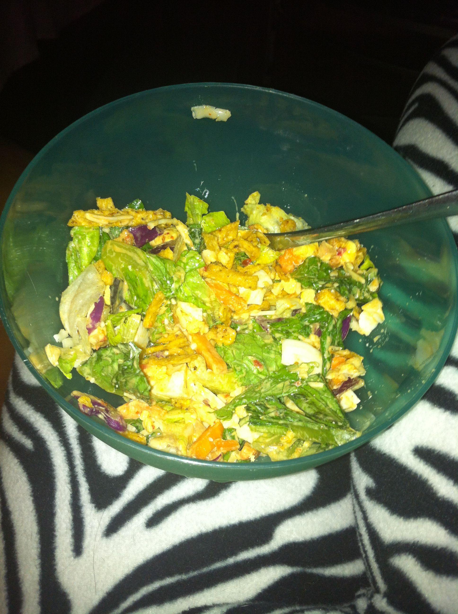 Sowthwest taco salad yummmy