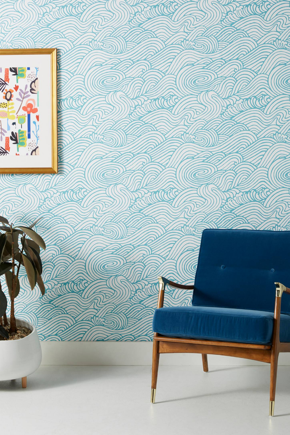 Mare Wave Wallpaper in 2020 Waves wallpaper, Home decor