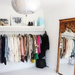 Build your own clothing rack | Passions for Fashion