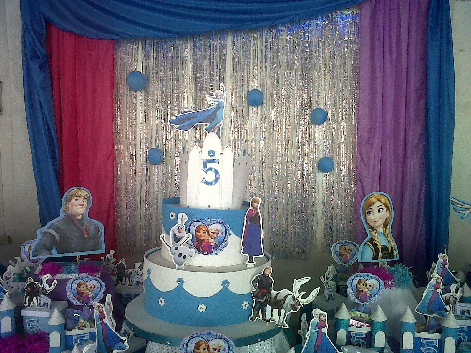 Decoracion fiesta frozen ideas para el hogar pinterest for Decoracion hogares infantiles