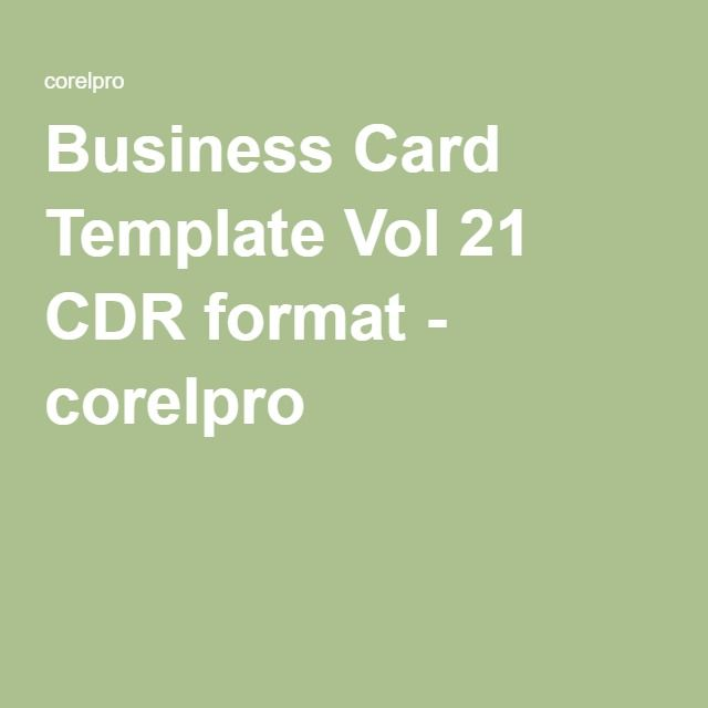 Business card template vol 21 cdr format corelpro corelpro business card template vol 21 cdr format corelpro reheart Images