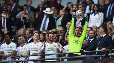 Manchester United consiguió título de la FA Cup. Mayo 22, 2016.