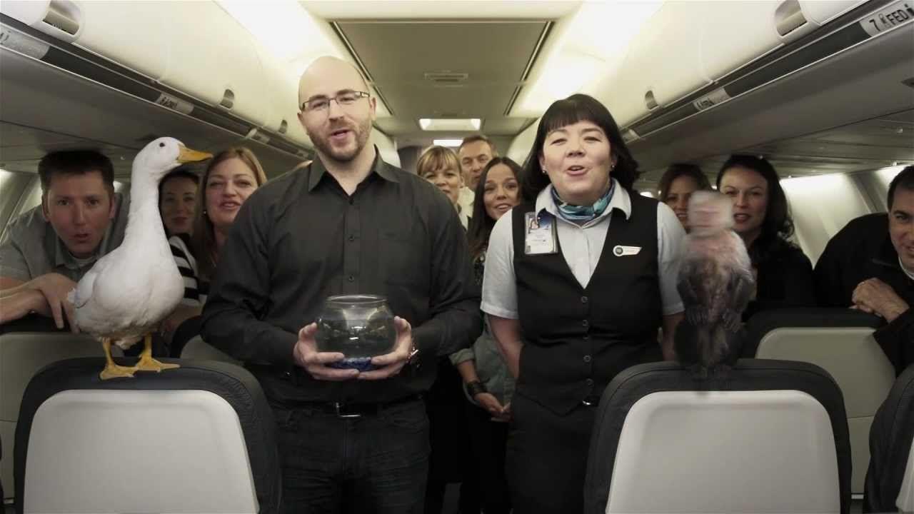 Anuncio de WestJet para que viajes con tus familiares