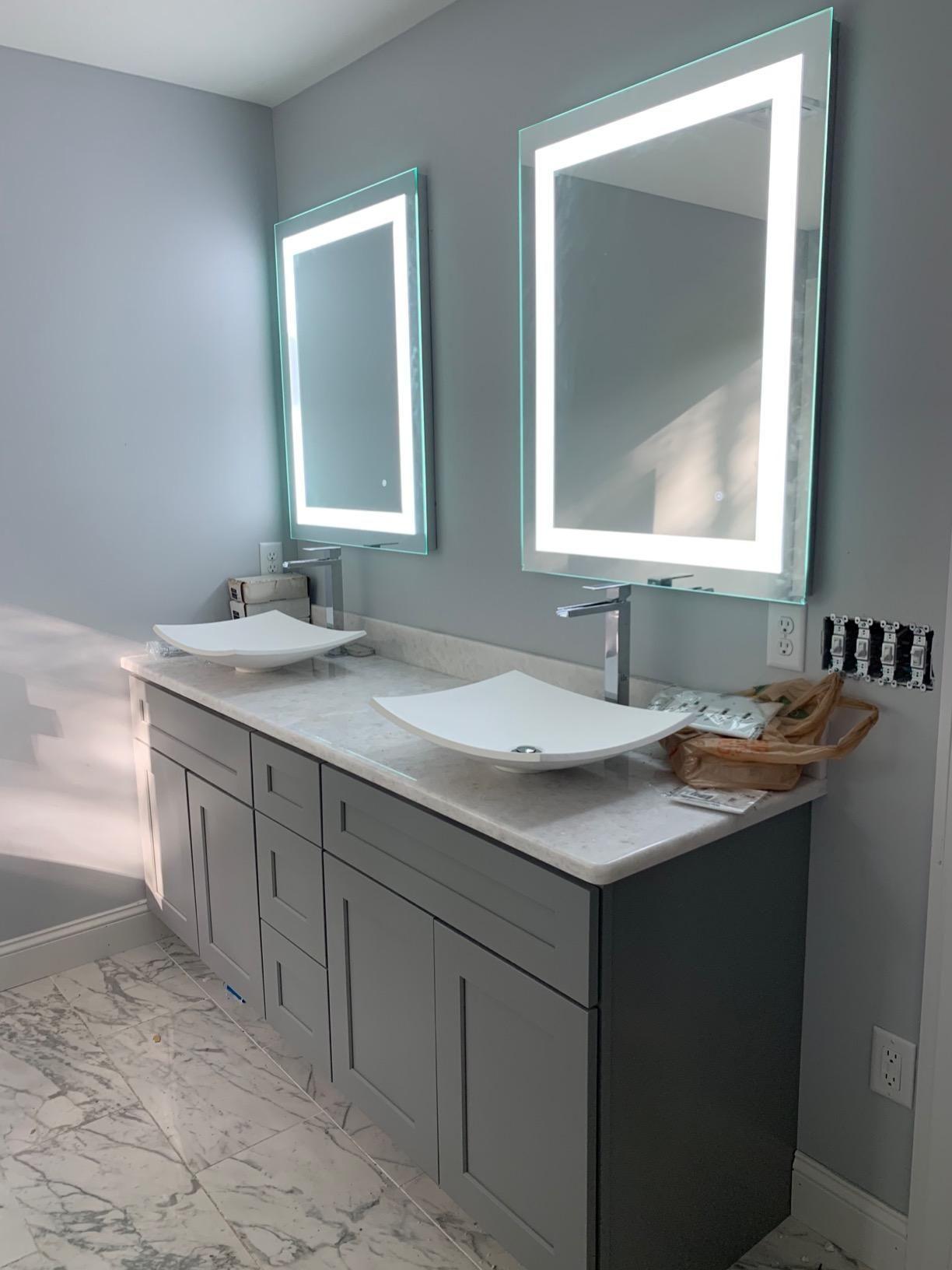 Vanity Mirror with Led Lights | Led mirror bathroom ...