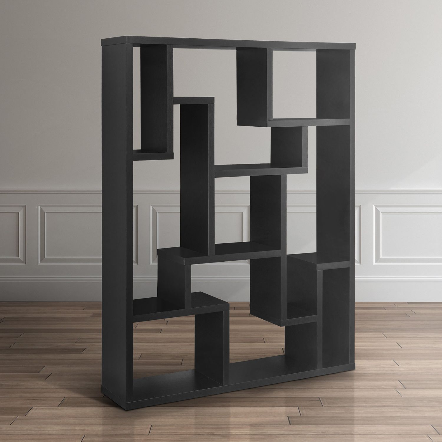 Furniture Of America Mandy Bookcase/ Room Divider (Black)