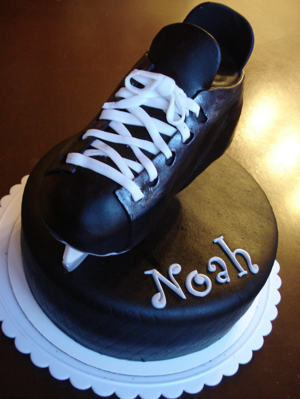 Hockey fan cake Hockey fans, Hockey, Sneakers