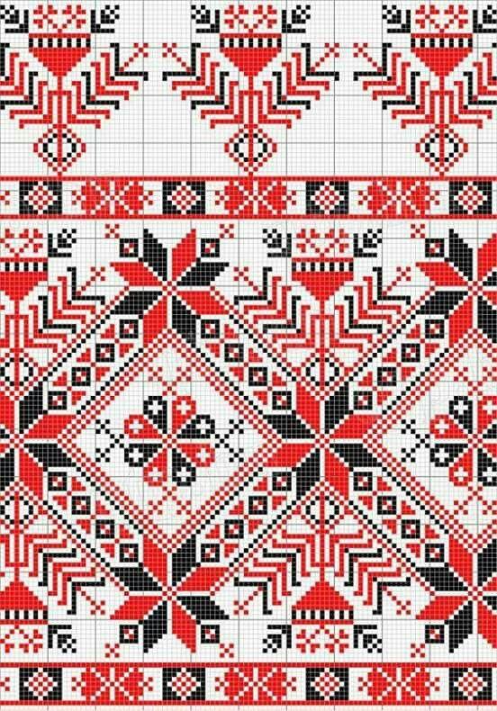 Pin de Inna Potapova en вишивка | Pinterest | Bordado, Punto de cruz ...