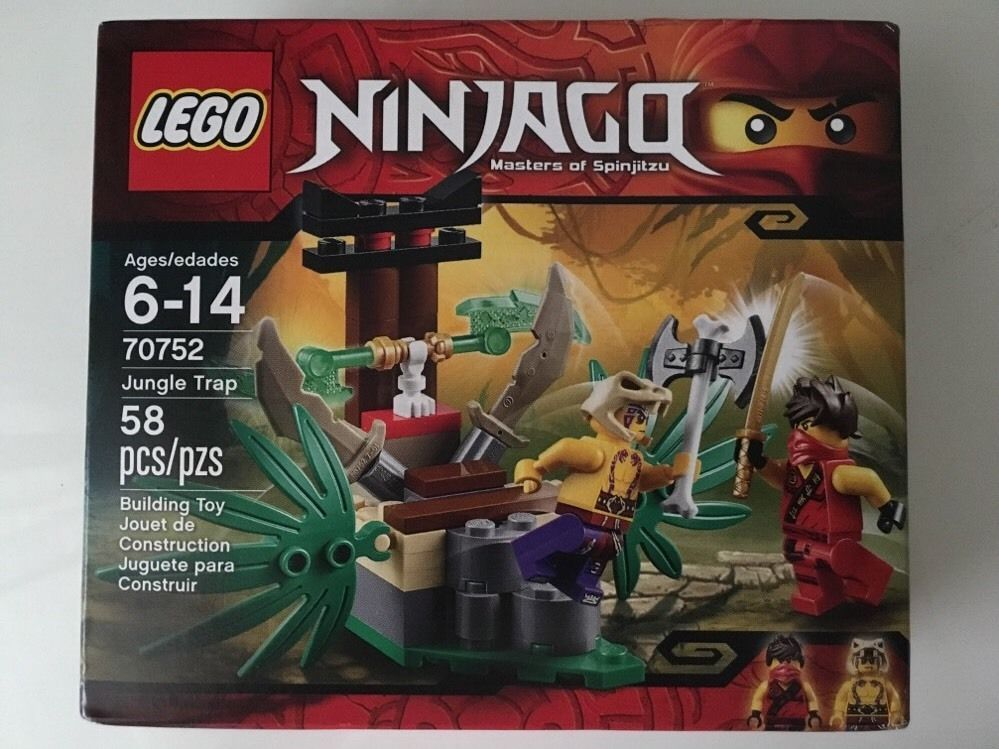 New Lego Ninjago Set 70752 Jungle Trap W Kai Krait 2 Minifigures 58