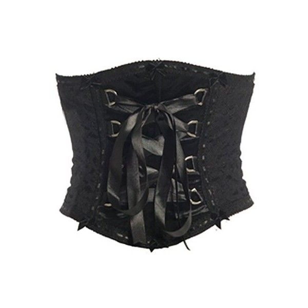 c79db04367 Emily Black Velvet Underbust Corset Belt by Sinister ( 47) ❤ liked on  Polyvore featuring accessories