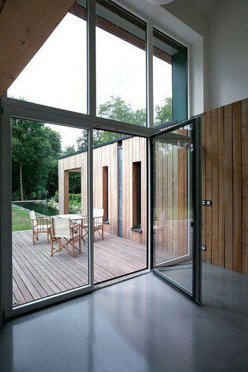 Construction  une maison passive maxi tendance Architecture