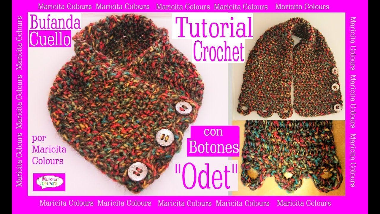 Único Hilo Grueso Patrón Bufanda Crochet Galería - Manta de Tejer ...