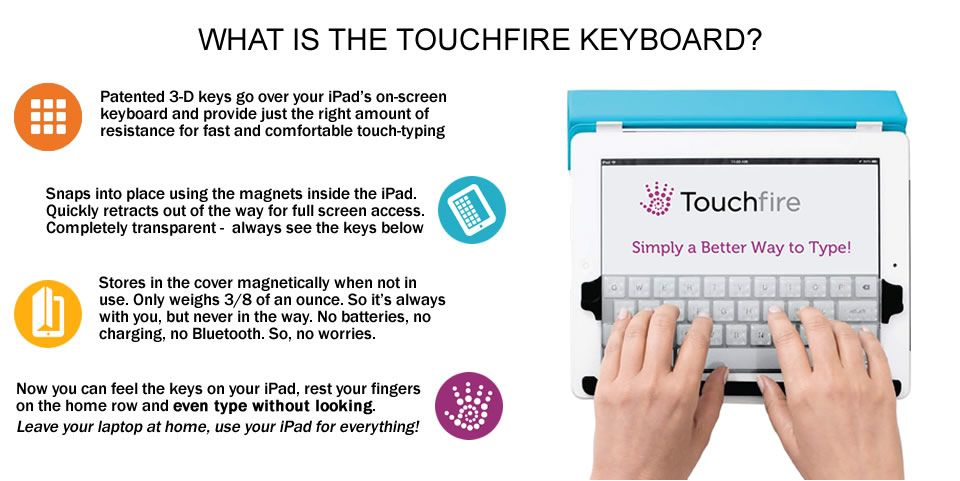 Touchpad iPad mini keyboard and cover. Looks interesting