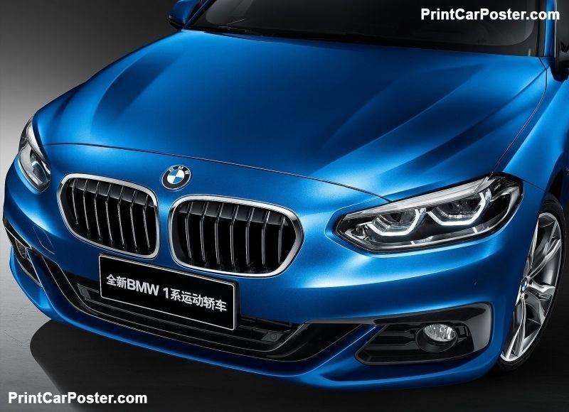BMW 1Series Sedan 2017 poster Bmw 1 series, Bmw, New bmw