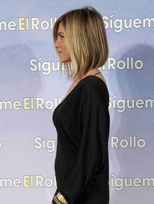 20 Jennifer Aniston Lange Bob Frisuren Pinterest Hair Styles