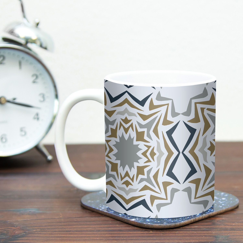 Ice Stars by Miranda Mol 11 oz. Ceramic Coffee Mug