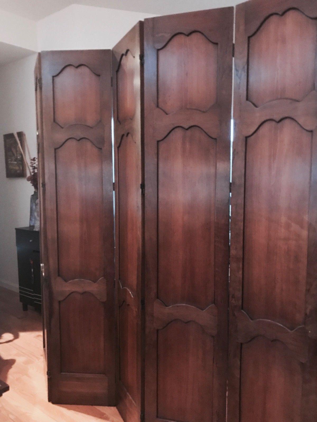 French Provincial 5 Panel Coromandel Wooden Dressing