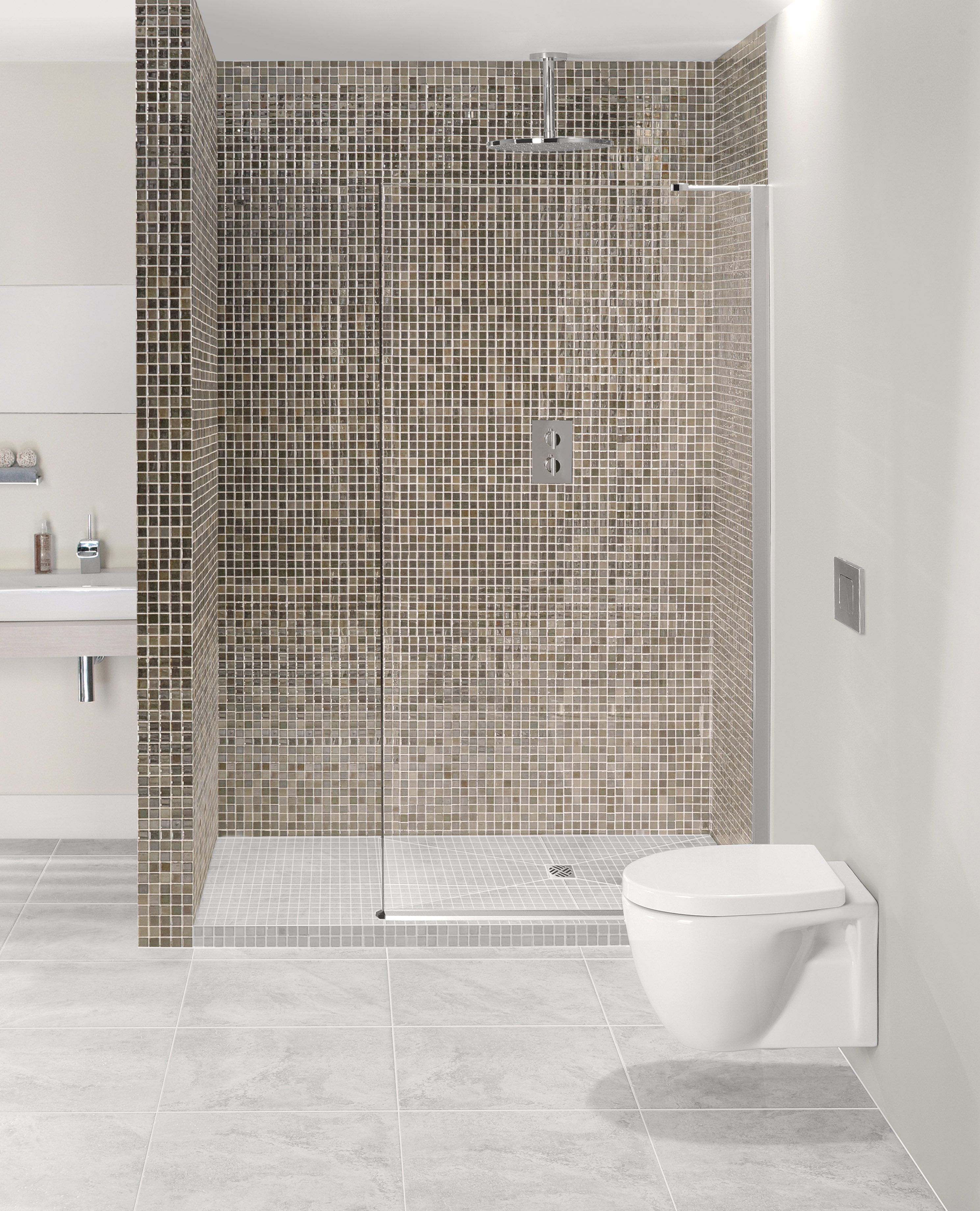 Step-Up Wetroom Shower Enclosure Tray Kits from Crosswater http ...