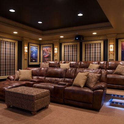 Media Room Design Ideas, Pictures, Remodels and Decor ...
