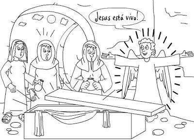 Historia Infantil Pascoa Ressurreicao De Nosso Senhor Salvador