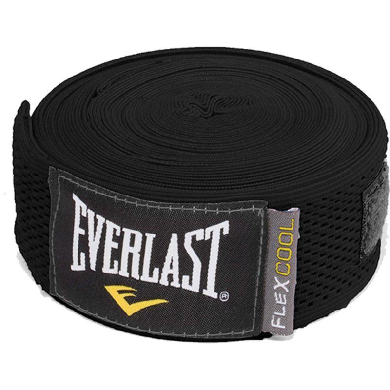Everlast 180 flexcool hand wraps black hand wrap